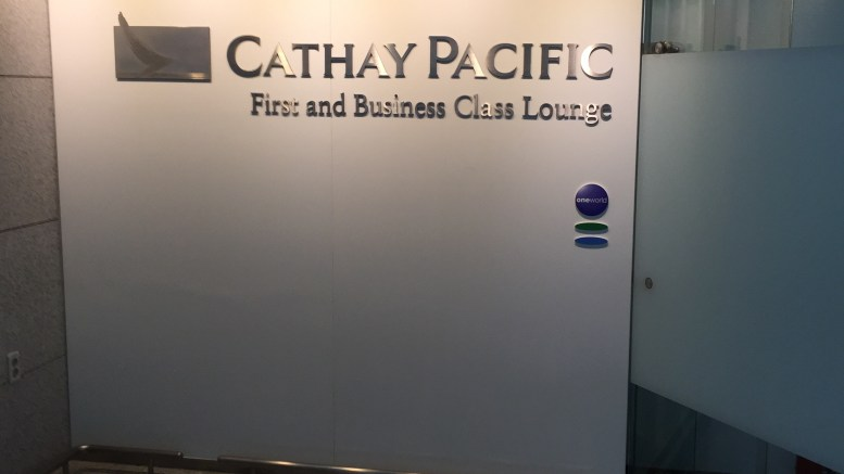 Cathay Pacific First and Business Class