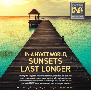 Hyatt Promotion - Earn up to 75,000 Bonus Points