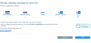 American Airlines ending 24 hour free hold policy