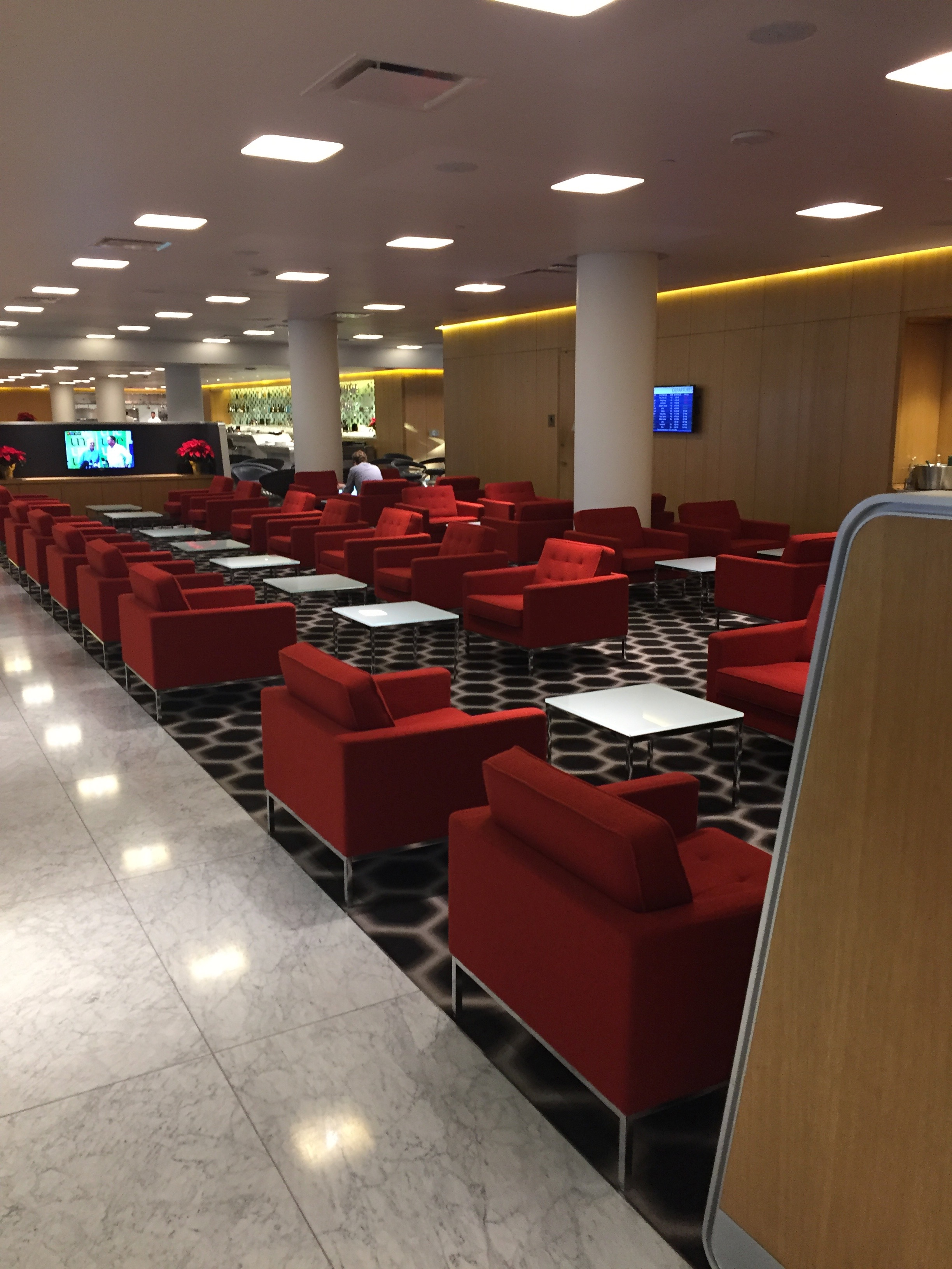Qantas First Lounge Review LAX