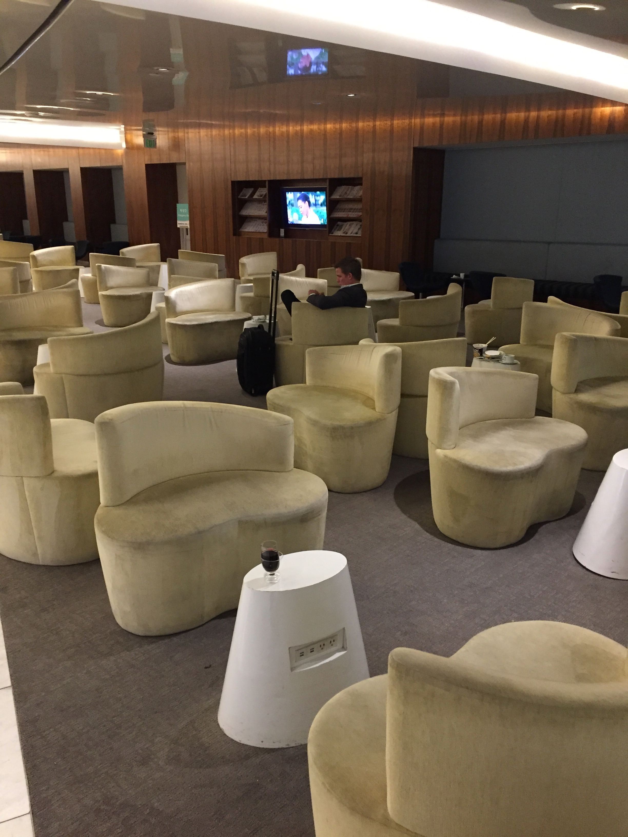 Korean Air Lounge LAX