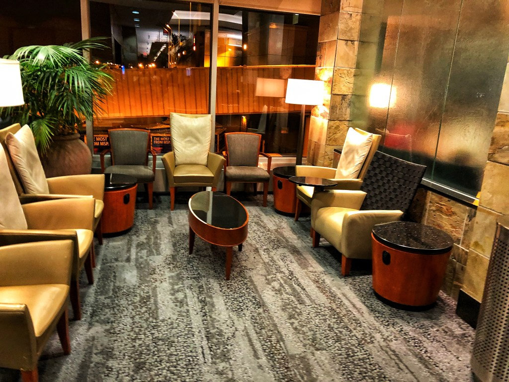 Delta Sky Club Minneapolis Christmas Experience