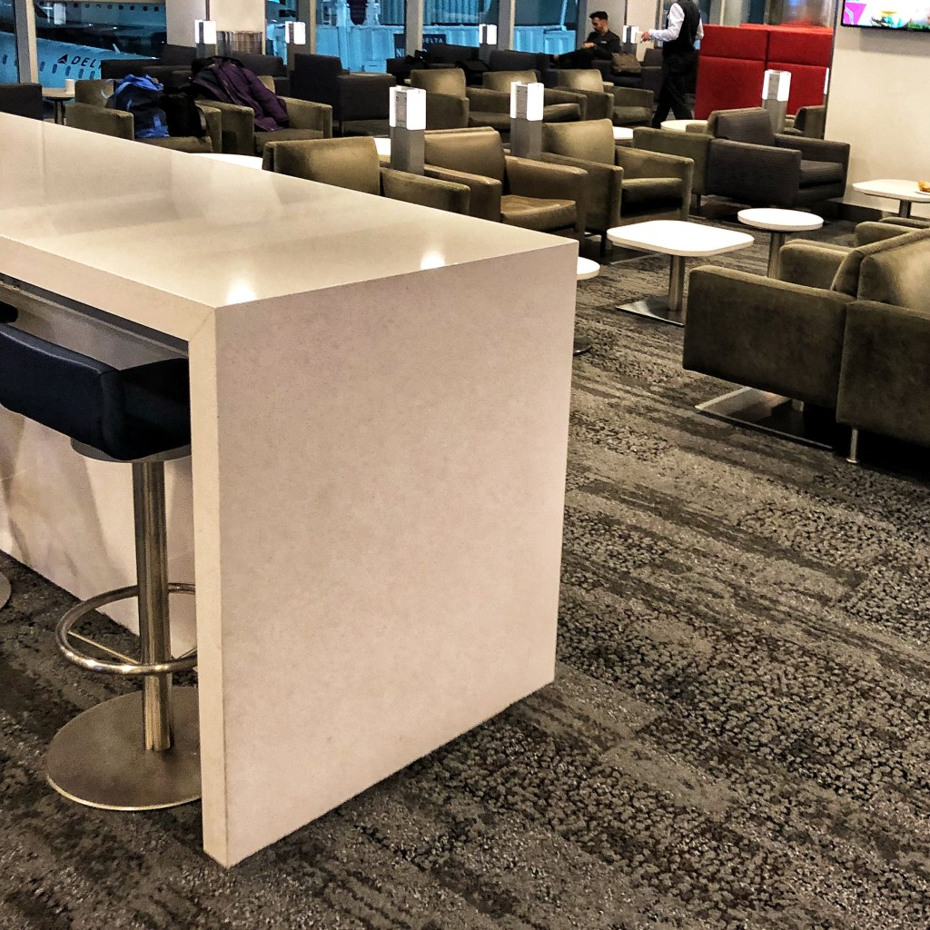 Delta Sky Club LaGuardia Airport Quick Review