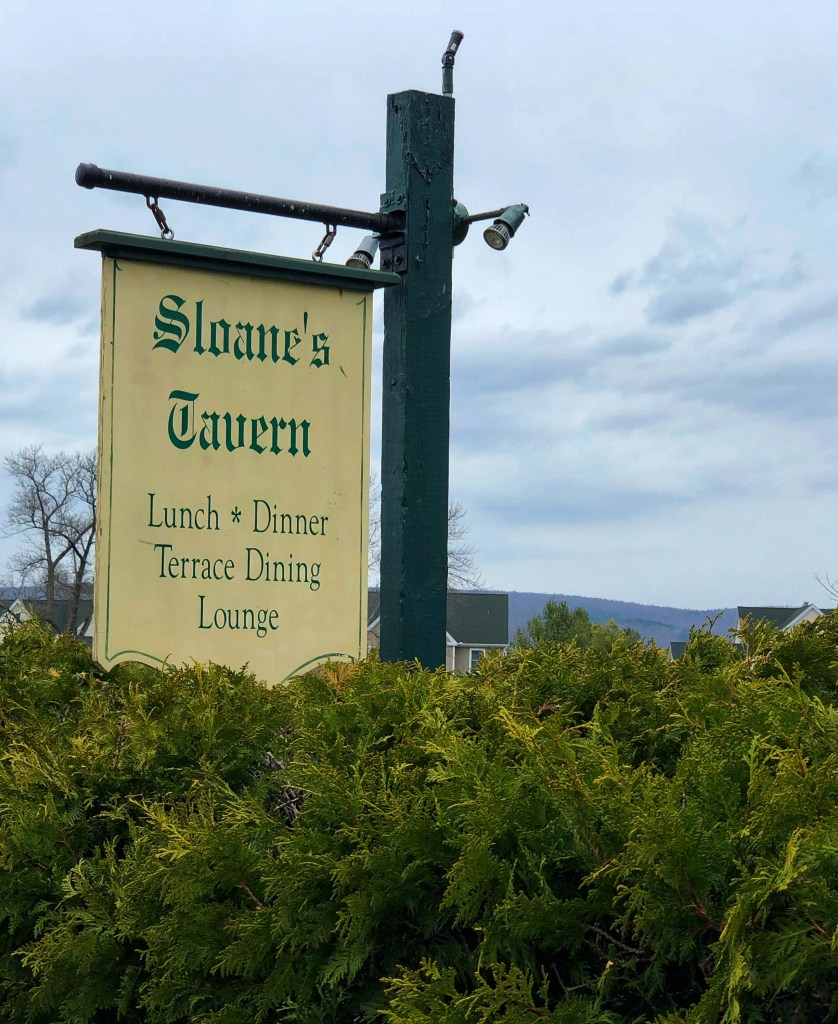 Sloane's Tavern Lunch