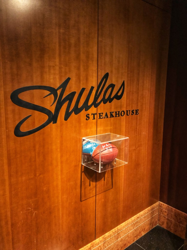 Sheraton Grand Chicago Experience Shula's Dinner Experience
