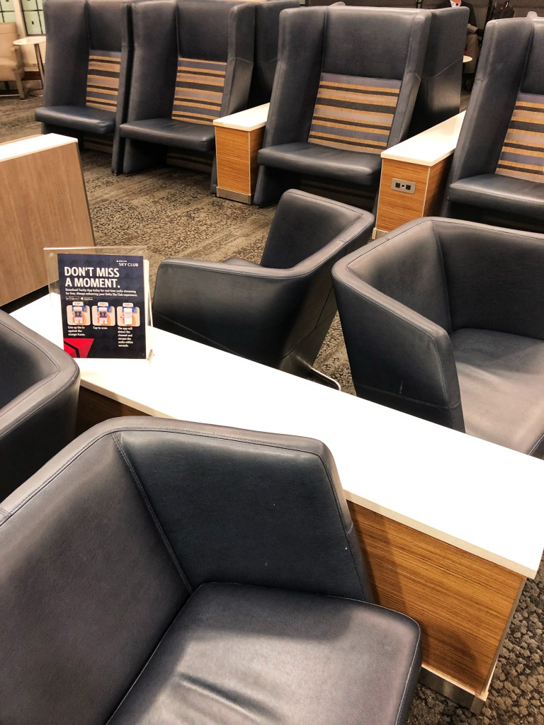 Delta Sky Club Experience Minneapolis