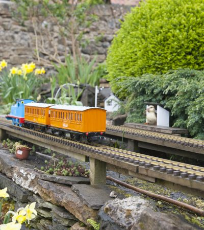 Thomas the tank and the garden railway