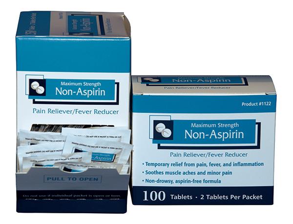 Non-Aspirin: Maximum Strength | Environmental First Aid ...