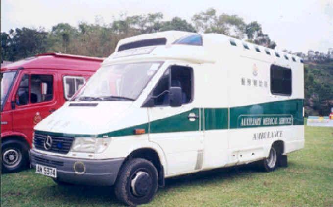 香港的救護車