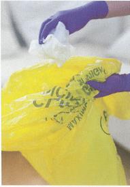 first aid bio hazard bag
