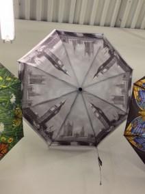 Intersecting umbrella lines
