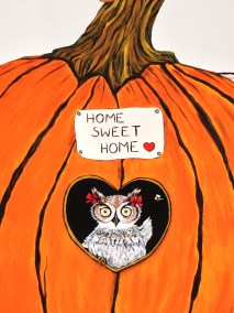 Hootie Owl in the kids reading room