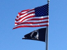 American (and POW) Flag - Brigantine Library