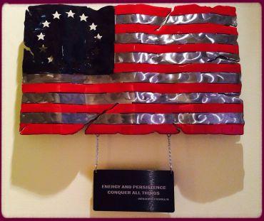 Flag Benjamin Franklin