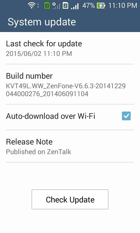 Manually Update Asus Zenfone 4 to Lollipop - Full Steps with pictures