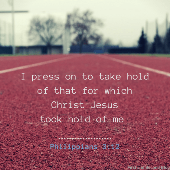 Bible verse about pressing on and being faithful in little choices