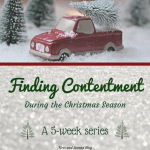 A 5 week series on finding contentment in Christ during the Christmas season