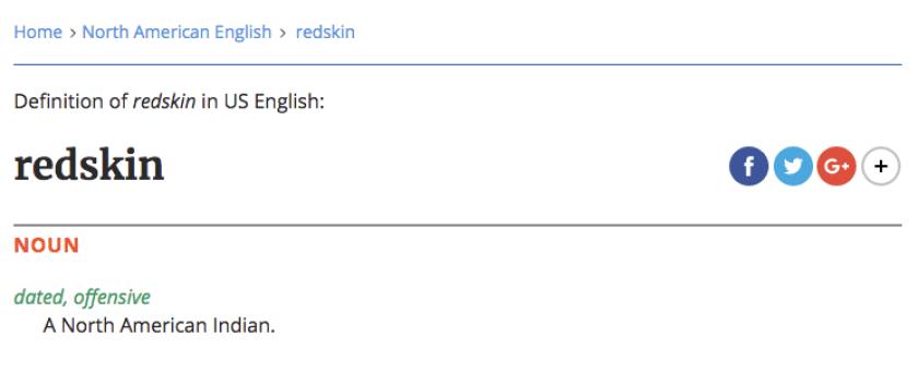 redskindefinition