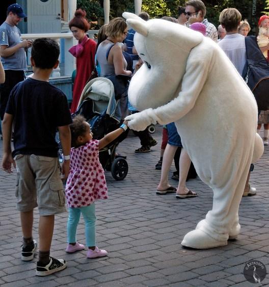 Moomins hand