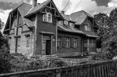Wooden house, Pärnu