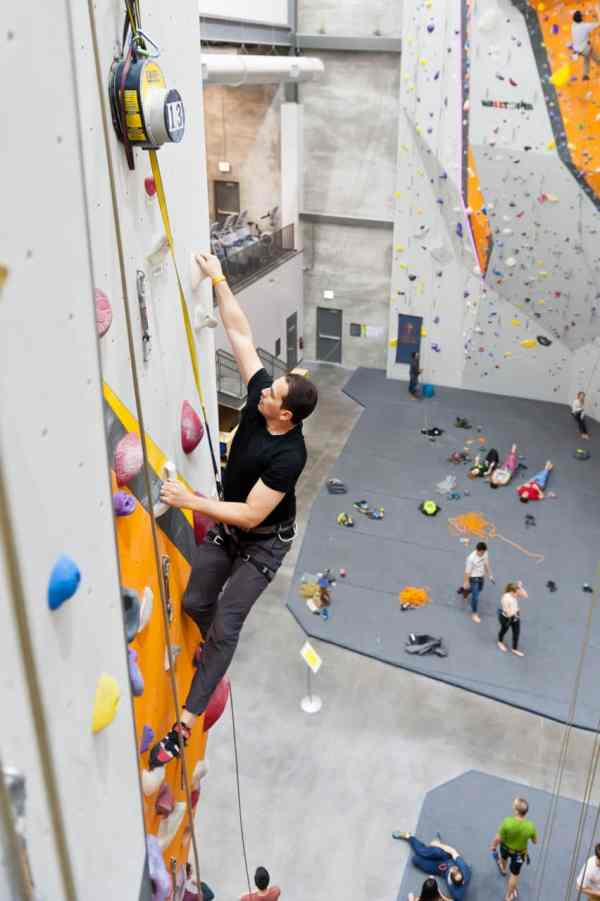 Health Benefits Of Rock Climbing Ascent & Fitness