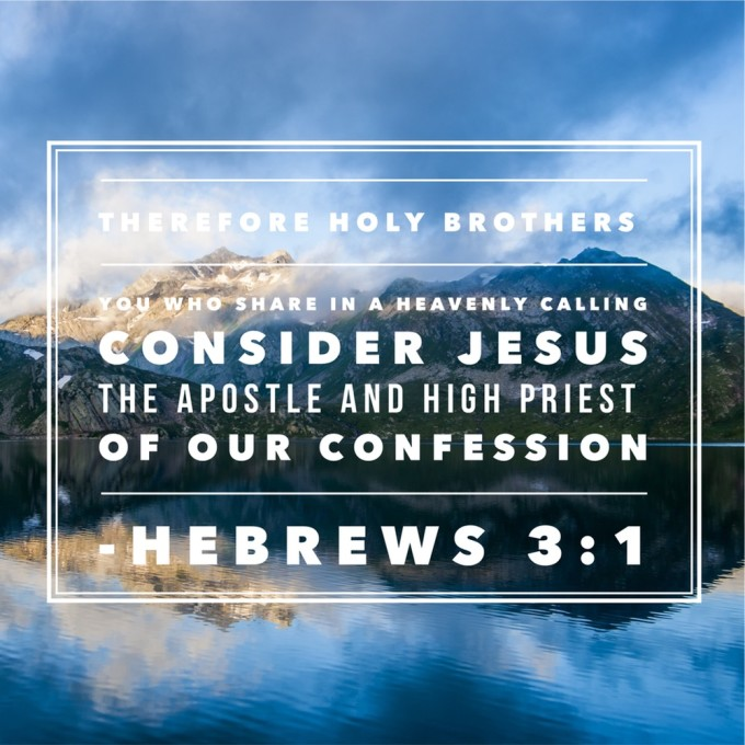 Hebrews 3:1