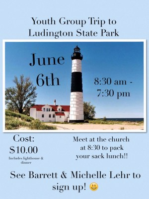 Youth Group Trip To Ludington State Park