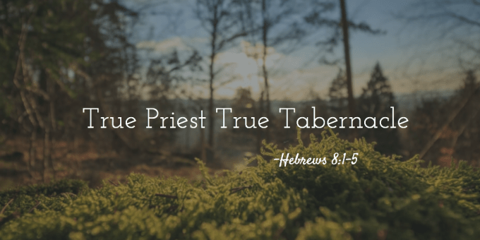 True Priest True Tabernacle