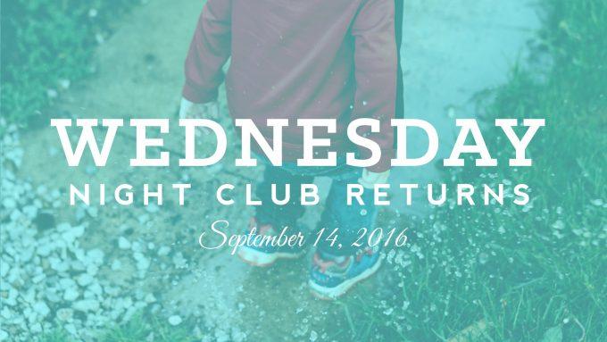Wednesday Night Club 2016