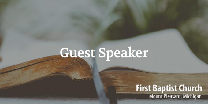 Guest Speaker - Bob Beery