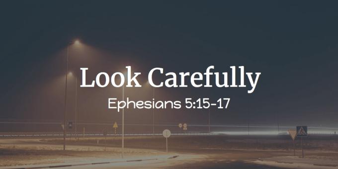 Look Carefully