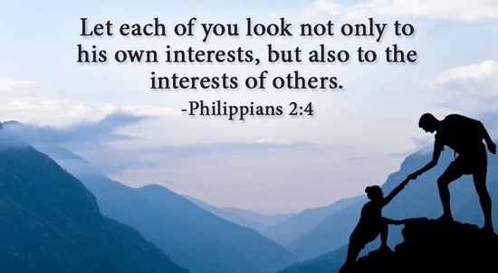 Image result for philippians 2 4