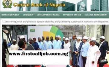 Central Bank of Nigeria Recruitment