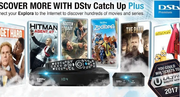 Movies from DStv Explora Decoder