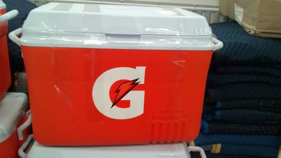 Large Gatorade Container