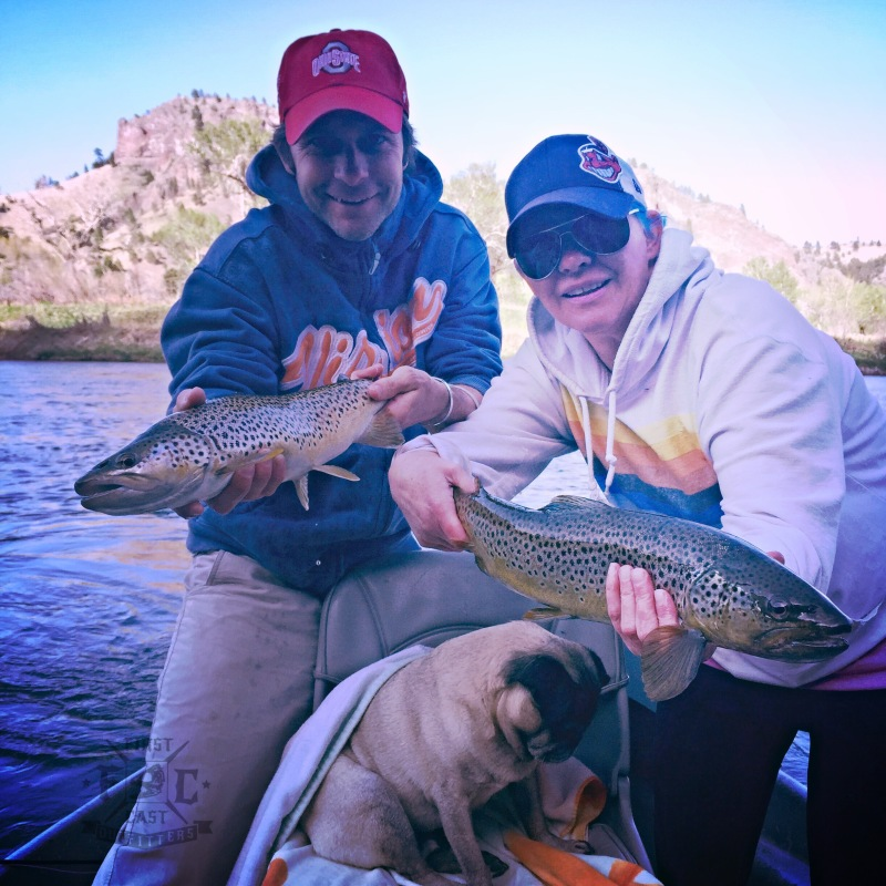 missouri river, brown trout, montana, montana fly fishing, first cast outfitters, firstcastoutfitters, trout, fly fishing trips montana