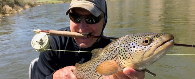 Missouri River Fly Fishing with First Cast Outfitters in Montana