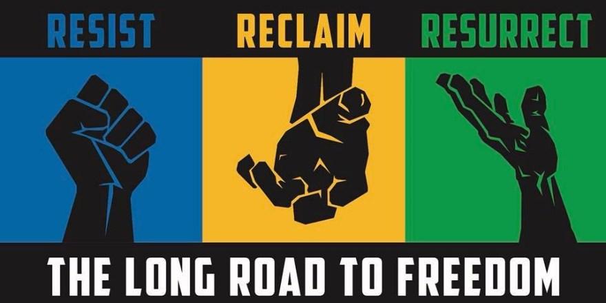 resist reclaim resurrect