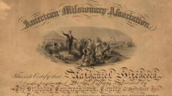 1846 | First integrated anti-slavery society