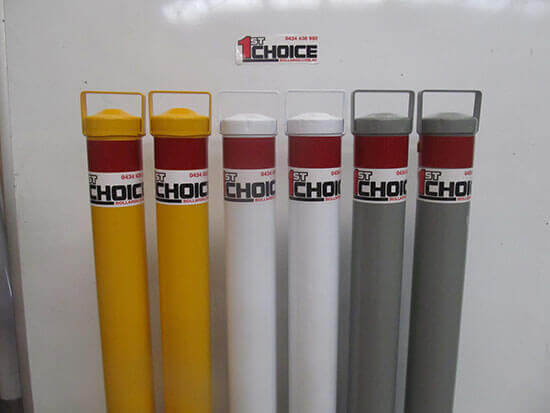 Home - image Custom-colours on https://firstchoicebollards.com.au