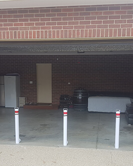 First Choice Bollards - Roller Door External