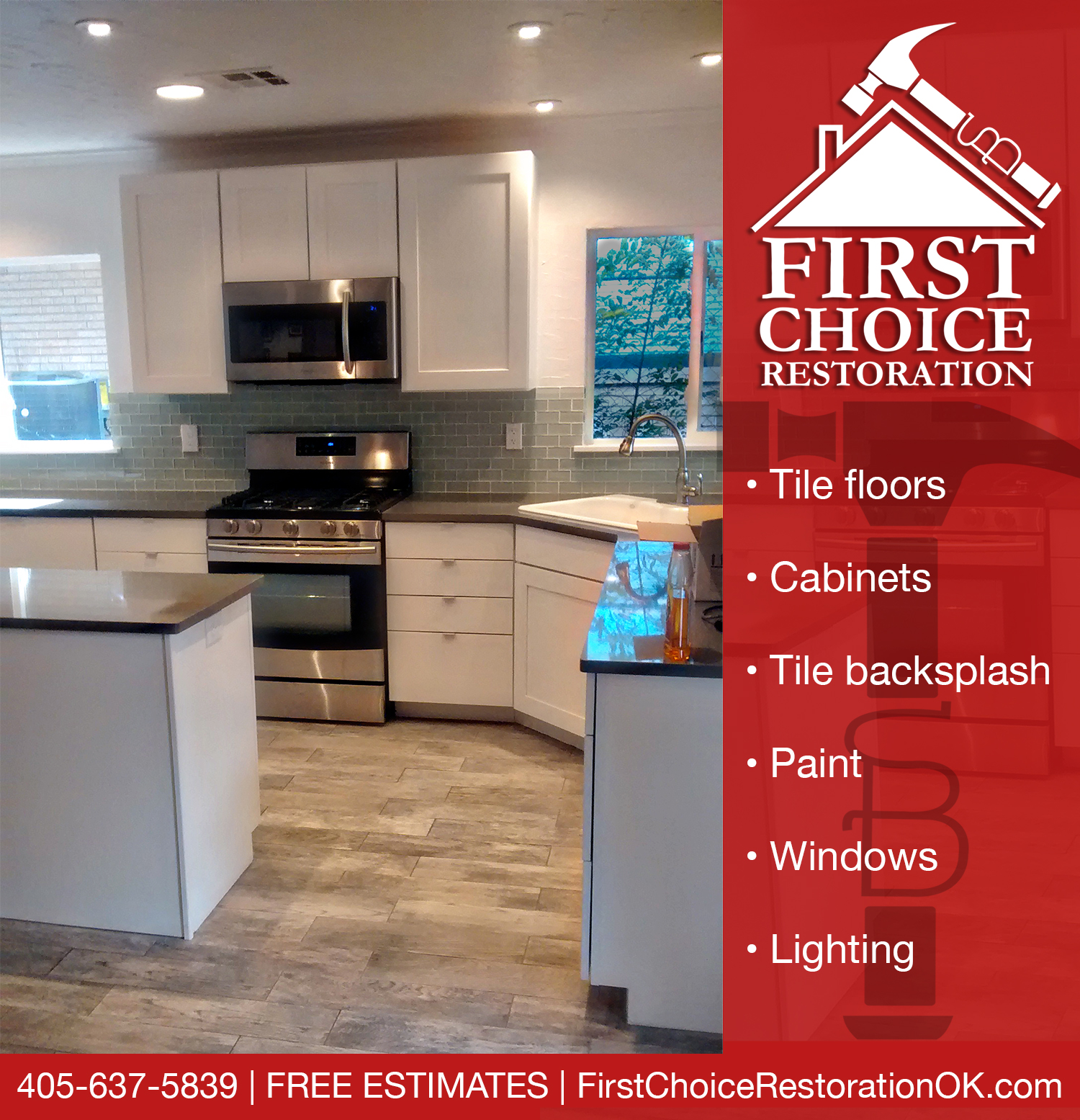 kitchen remodel okc kraftmaid cabinets remodeling in first choice restoration restorations
