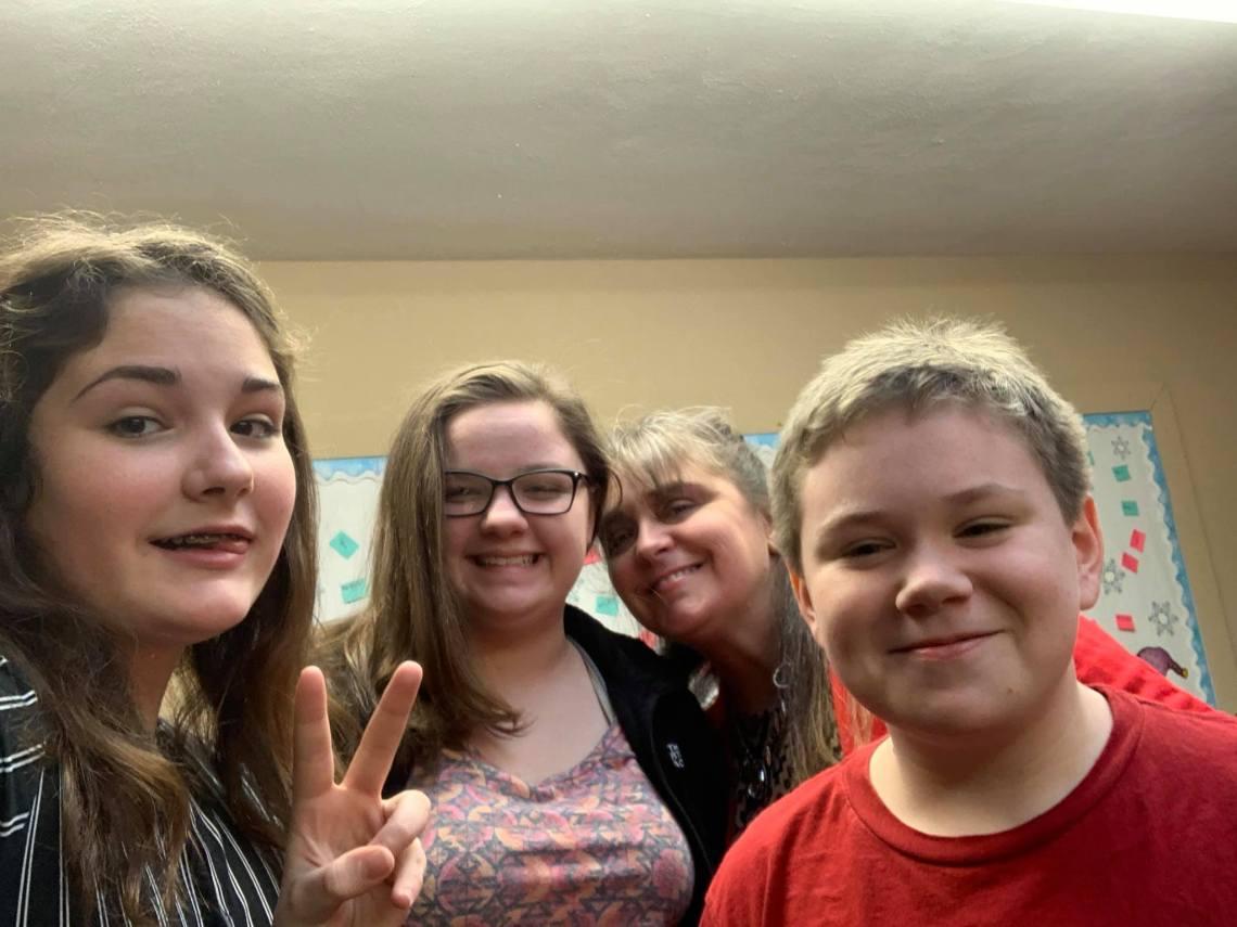 Sunday School Selfie