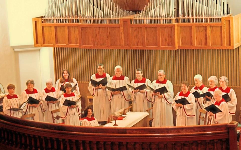 Choir Singing on Sunday