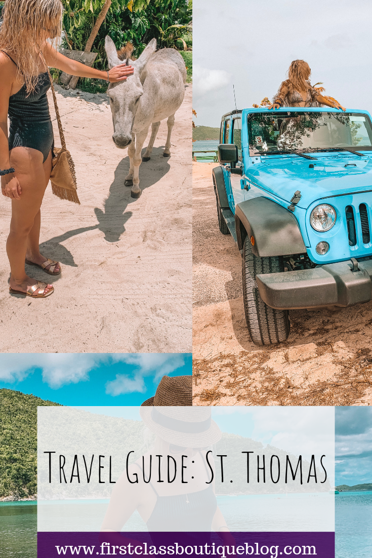 St. Thomas Travel Guide || Beach photography inspiration, island food, island itinerary and much, much more! || IG: @pearlsnplanes