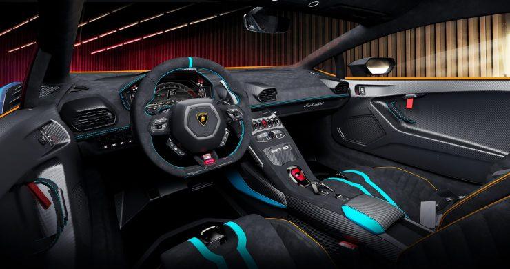 Lamborghini Squadra Corse20 interior