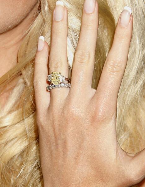 Heidi Montag's Purple Engagement Ring - Engagement Ring Blog