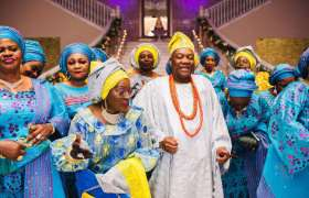 Nigerian Brides Mother Wedding Outfits