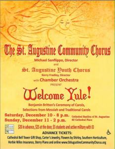 St. Augustine Community Choir - Welcome Yule! @ Cathedral Basilica | St. Augustine | Florida | United States