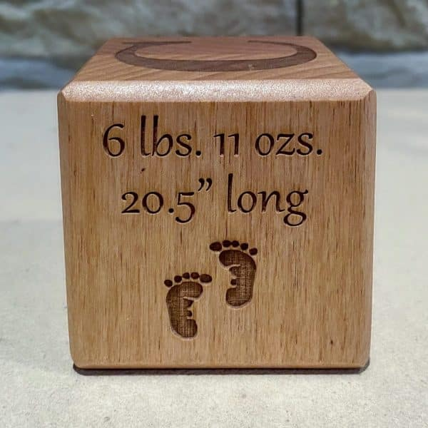 Baby Block - Length and Weight
